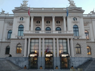 The Zurich opera house