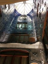 Inside Casa Batllo Lightwell